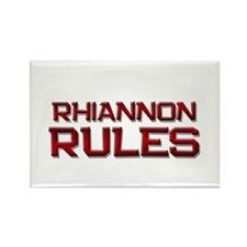 rhiannon rules Rectangle Magnet