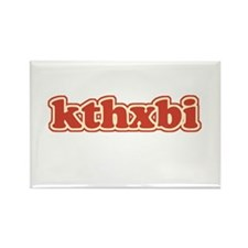 kthxbi Rectangle Magnet