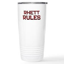 rhett rules Travel Mug