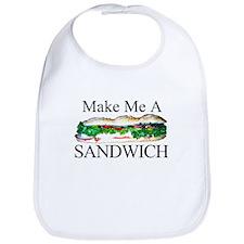 Make me a Sandwich Bib