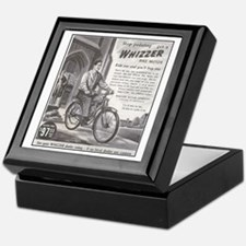 """1946 Whizzer Ad"" Keepsake Box"
