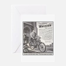 """1946 Whizzer Ad"" Greeting Card"