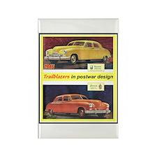 """""""1946 Kaiser-Frazer Ad"""" Rectangle Magnet"""