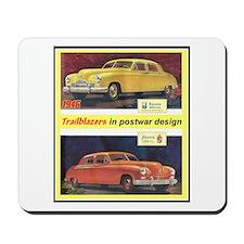 """""""1946 Kaiser-Frazer Ad"""" Mousepad"""