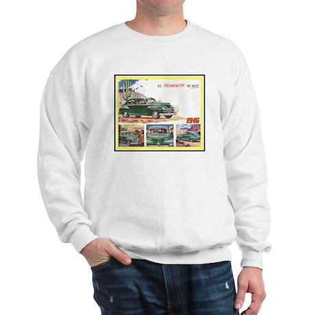 """1946 Plymouth Ad"" Sweatshirt"