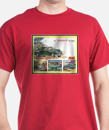 """1946 Plymouth Ad"" T-Shirt"