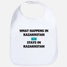 What Happens In KAZAKHSTAN Stays There Bib