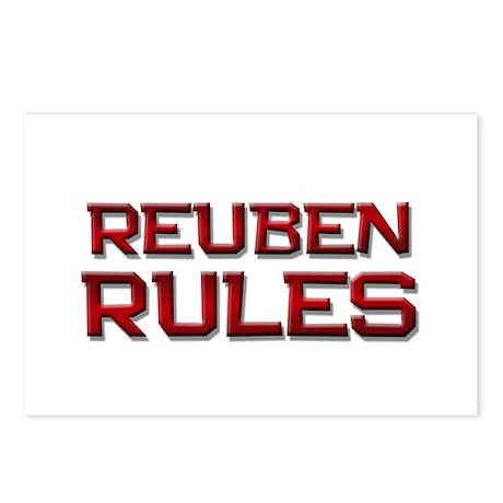 reuben rules Postcards (Package of 8)