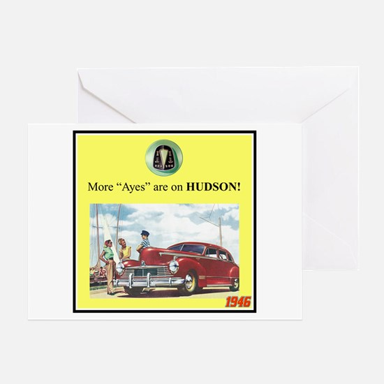 """1946 Pontiac Ad"" Greeting Card"
