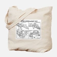 03/29/1909: Fat Man Tote Bag