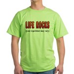 Life Rocks Green T-Shirt