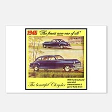 """1946 Chrysler Ad"" Postcards (Package of 8)"