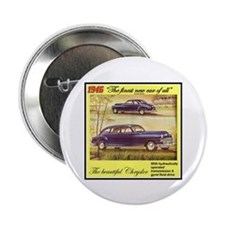 """1946 Chrysler Ad"" 2.25"" Button (10 pack)"
