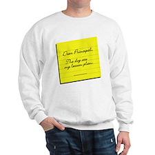 Lesson Plan Sweatshirt