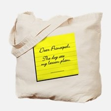 Lesson Plan Tote Bag