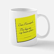 Lesson Plan Mug