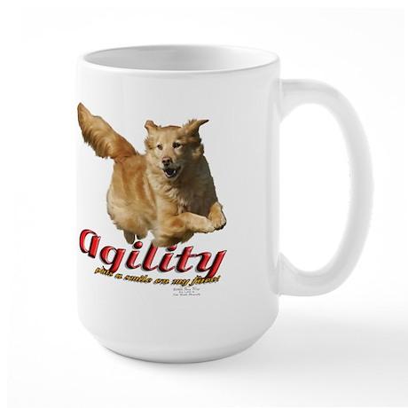 Agility Smile Large Mug