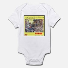 """1945 Packard Ad"" Infant Bodysuit"