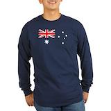 Australia Long Sleeve T-shirts (Dark)
