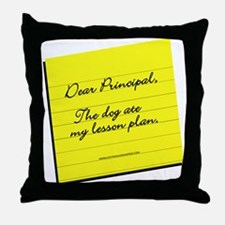 Lesson Plan Throw Pillow