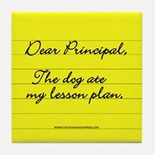 Lesson Plan Tile Coaster