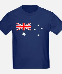 Kids Australian Flag T-Shirt