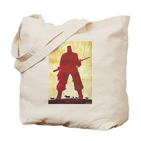 RED GUARD DESIGN Tote Bag