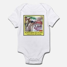 """1945 DeSoto Ad"" Infant Bodysuit"