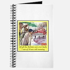 """""""1945 DeSoto Ad"""" Journal"""