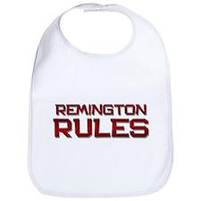 remington rules Bib