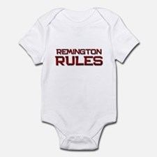 remington rules Infant Bodysuit