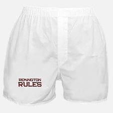 remington rules Boxer Shorts