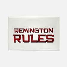 remington rules Rectangle Magnet