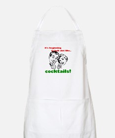 Cocktails! BBQ Apron