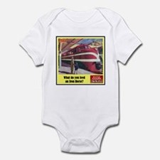 """The Iron Horse"" Infant Bodysuit"