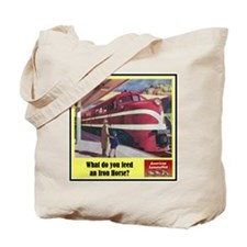 """The Iron Horse"" Tote Bag"