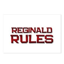 reginald rules Postcards (Package of 8)