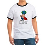 Earth Day Superhero Ringer T