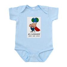 Earth Day Superhero Infant Bodysuit