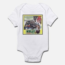 """1944 Kelly Tire Ad"" Infant Bodysuit"