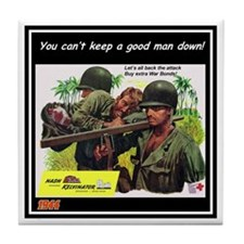 """Nash-Kelvinator Ad"" Tile Coaster"