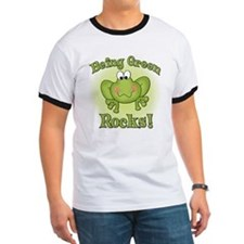 Being Green Rocks T