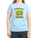 Being Green Rocks Women's Light T-Shirt