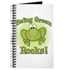 Being Green Rocks Journal