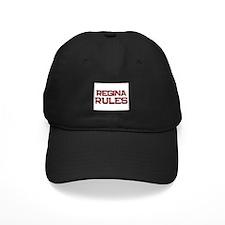 regina rules Baseball Hat
