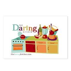 Daring Kitchen Postcards (Pkg of 8)-Retro Kitchen