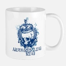 Armwrestling King Small Mugs