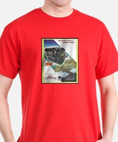"""WWII Allison Engines"" T-Shirt"