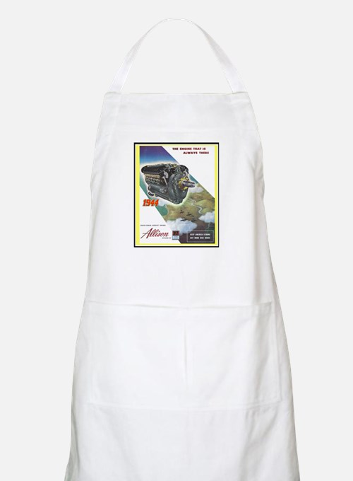 """WWII Allison Engines"" BBQ Apron"