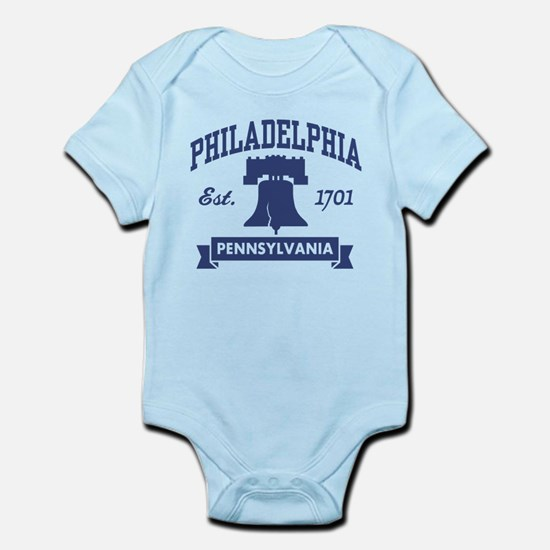 Philadelphia PA Infant Bodysuit